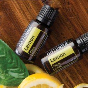 Óleo essencial de Limão dōTERRA