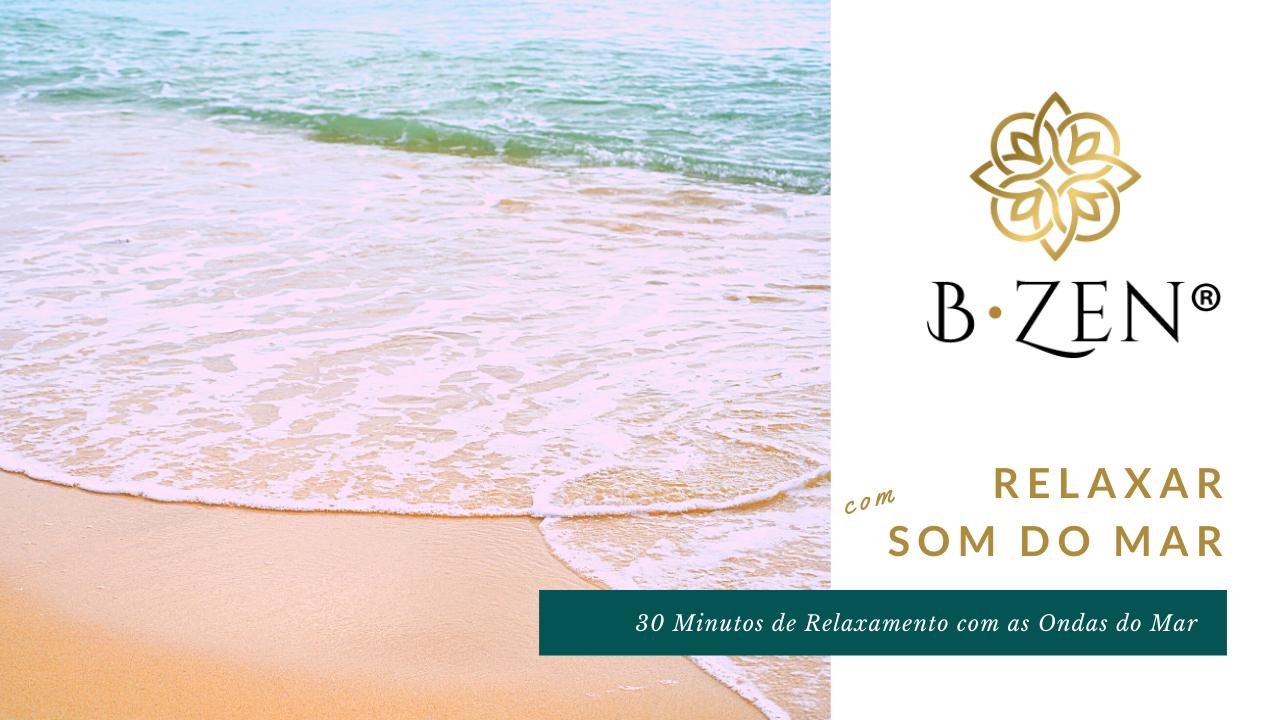 Som do Mar e das Ondas na Praia | Relaxar, Dormir e Meditar | 30 minutos