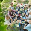 momentos em família, reunir todos os membros da família, harmonia nas relações entre pais e filhos